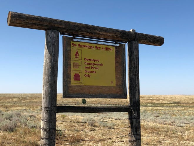 Stage I Fire Restrictions at Cimarron and Comanche National Grasslands like the Comanche National Grasslands near the Otero-Las Animas County Line will be in effect through Dec. 31, 2021.