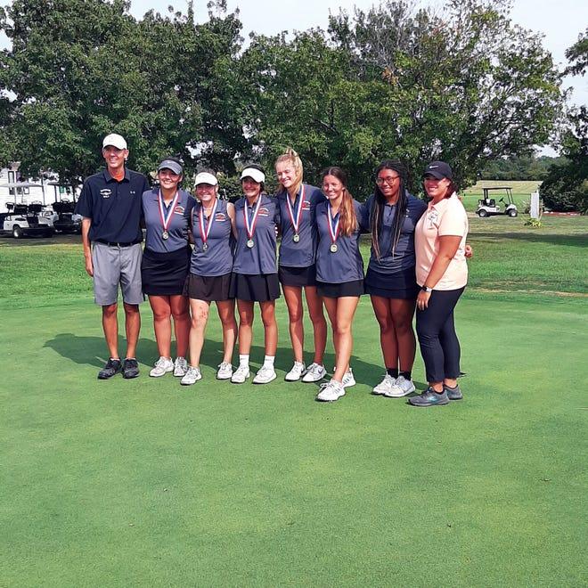 The Macomb girls golf team.