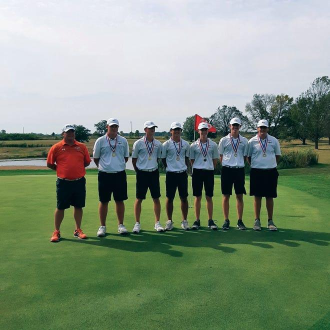 The Macomb boys golf team.