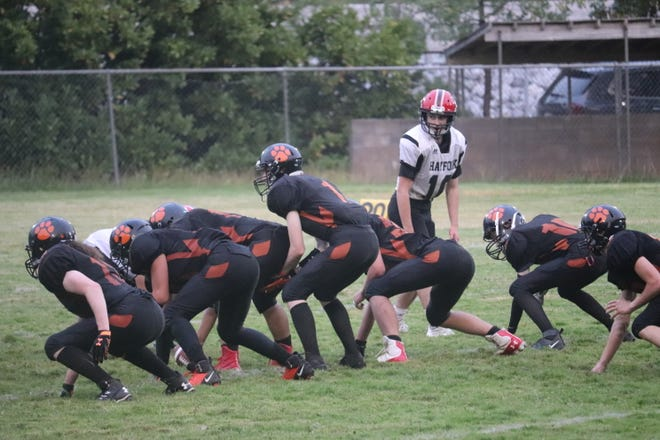 The Dunsmuir Tigers 8-man football team defeated Hayfork at home on Friday, Sept. 10, 2021.