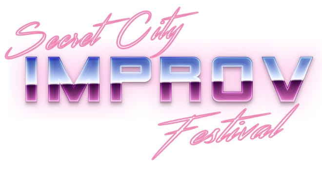 Secret City Improv Festival logo.