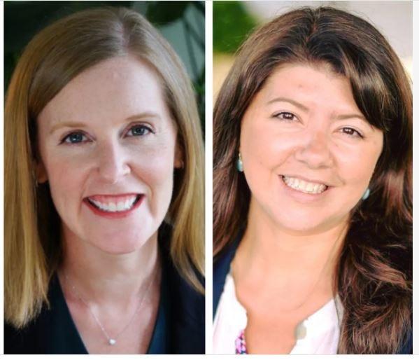 New Hampshire state Sens. Becky Whitley and Rebecca Perkins Kwoka