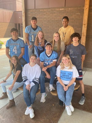 """Skyline School students and supporters will celebrate a """"Born in the USA"""" - Skyline Fall Homecoming on Friday, September 17, 2021. Senior candidates for royalty are Alea Nelson and Owen Jones, Baylee Lauffer and Isaac Allphin, Gillian Swindler and Leo Egging, Averey Haskett and Jesus Casas, Kylie Scherer and Angel Diaz."""
