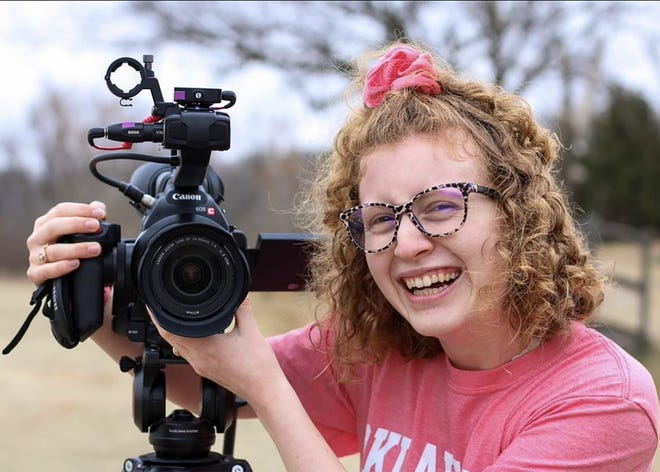 OBU student Vicki Coolidge was recently awarded the National Academy of Television Arts and Sciences Heartland Regional Emmy Student Scholarship for the second year in a row.