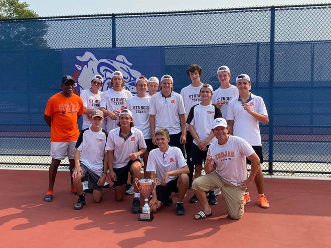 The Sturgis tennis team won the Mason Invitational on Saturday.