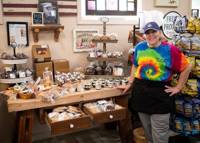Darlene Walsh, owner of Ten West Market in Paxton.