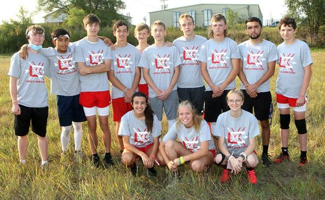 The 2021 Wellington High School Cross County Team