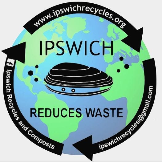 The logo for IpswichRecycles.org.
