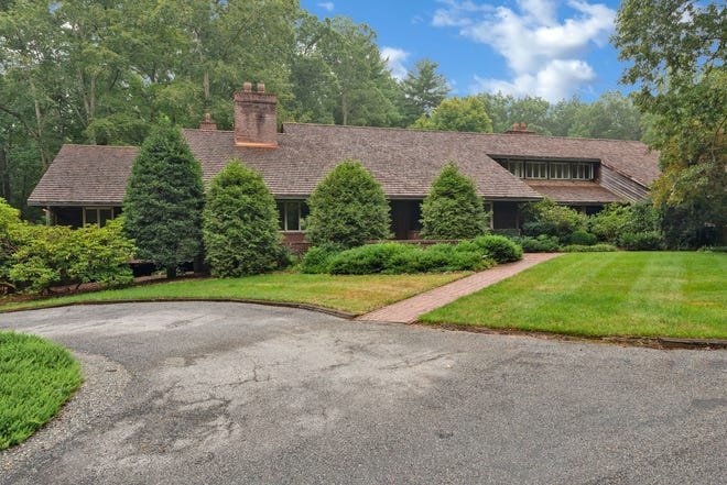 This 6,000-square-foot home in Biltmore Forest set a sales record for the Asheville region, going for $9.5 million in September 2021, according to Premier Sotheby's International Real Estate. It was the former home of Vanderbilt heir George Cecil, and his wife, Nancy.