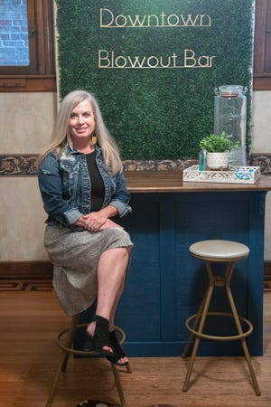 Former CEO of Big Brothers and Big Sisters Julie Violette thought she would work in sports marketing, but was more interested  in owning her own business so she ended up opening the Downtown Blowout Bar and Med Spa Beauty Lounge.