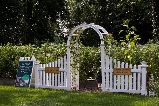 Clinton Township Senior Center garden