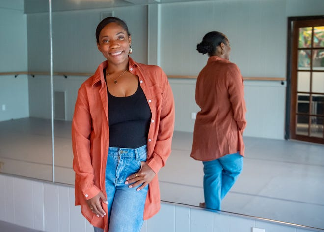 """Leigha Porter is the artistic director for the F.I.R.E. Expressions Performing Arts Conservatory and one of the minds behind """"The Creole Nutcracker."""" Porter is opening a performing artist resource center on Moss Street called PARC Village. Monday, Sept. 13, 2021."""