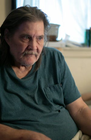 Brighton Township resident Phil Ross, shown Monday, Sept. 13, 2021, doesn't know how he'll be able to find affordable housing. Having lost his life partner recently, he depended on their shared income to afford his home.