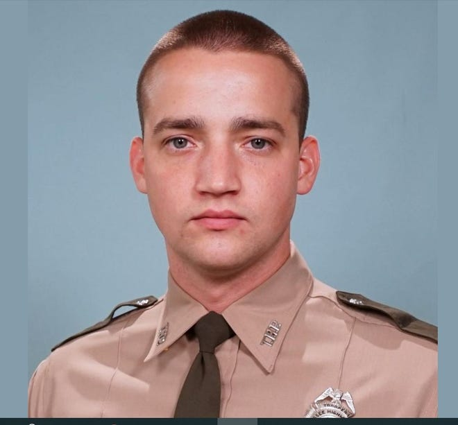 Aaron Rumford, an off-duty member of the Tennessee Highway Patrol died in a motorcycle crash on Sept. 12, 2021