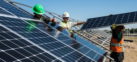The USDA has committed $464 million to renewable energy projects in NM including Deming's Denny's Restaurant and NM Wineries Inc.