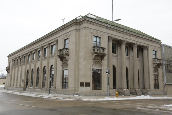 The Oshkosh Northwestern building, 224 State St., is up for an online auction that runs Sept. 20-22.