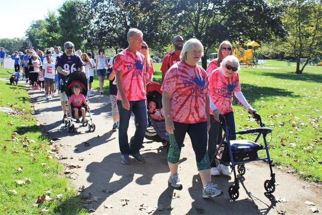 The York Heart Walk takes place Saturday at John Rudy County Park.