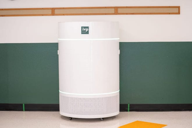 An Integrated Viral Protection Unit has been installed at Glenn Middle School.