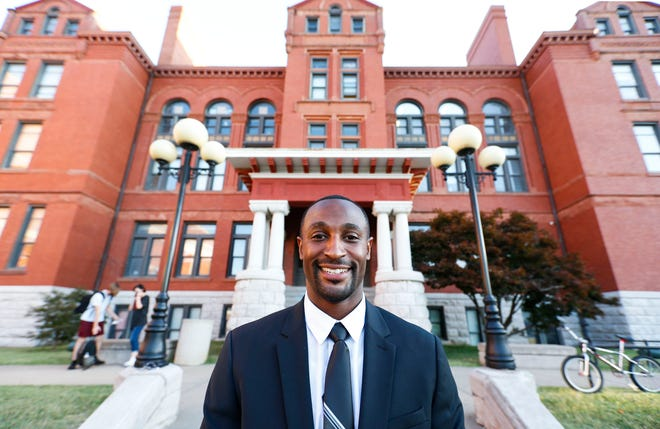 Jeremy Brown is the new principal of Central High School.