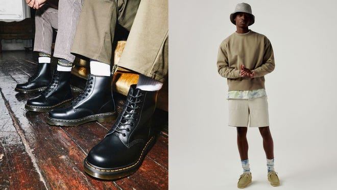 Wear one of these men's boots for this year's fall fashion.