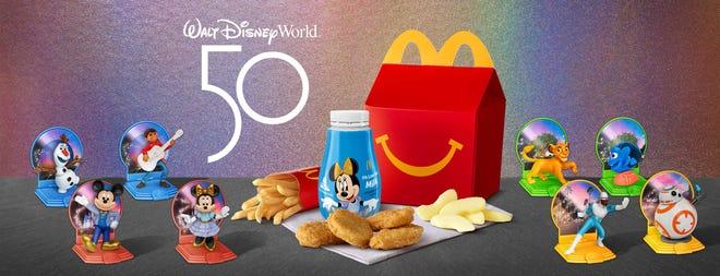 McDonald's is celebrating the 50th anniversary of Walt Disney World.