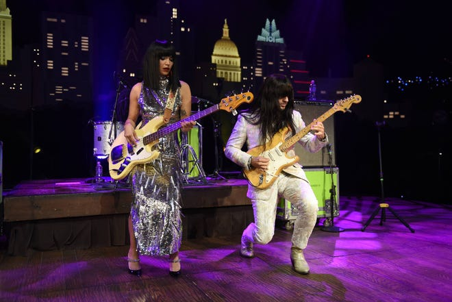 """Houston trio Khruangbin play during their debut """"Austin City Limits"""" taping on Sept. 13."""
