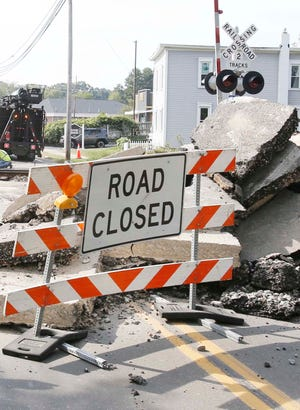Rt. 91 in Munroe Falls will reopen Sept. 22. The railroad crossing between Munroe Falls Avenue and North River Road has been closed since Monday for repairs.