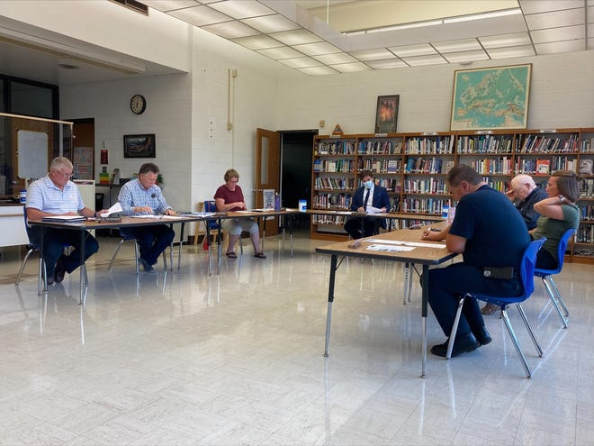 The Hillsdale Local Schools Board of Education meets on Tuesday.