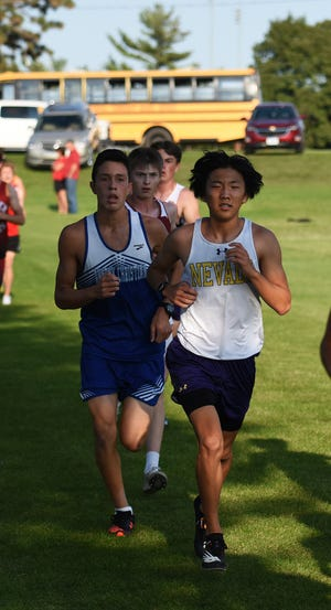 Nick Frideres ran a 19:17 for the Nevada boys' cross country team at the Gilbert Invitational in Ames Sept. 9. The Cub boys took seventh out of 14 teams in a loaded field that featured the top two teams in both Class 3A and 1A.