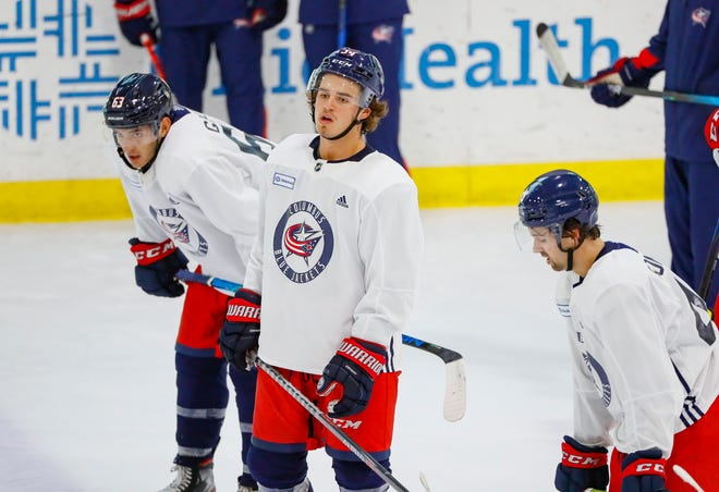 The Blue Jackets selected Cole Sillinger with the 12th overall pick in the 2021 NHL draft on Friday night, using a pick acquired before the first round from the Chicago Blackhawks.