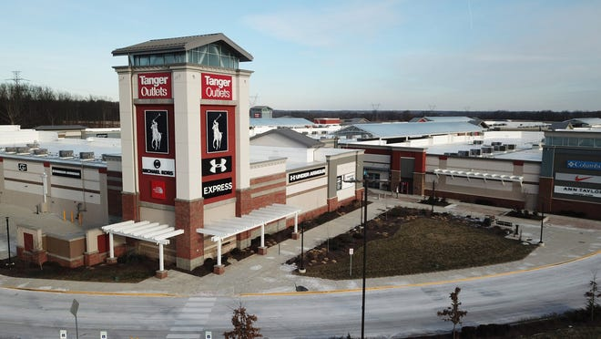Tanger Outlets has added several tenants to its outdoor shopping center in Sunbury.