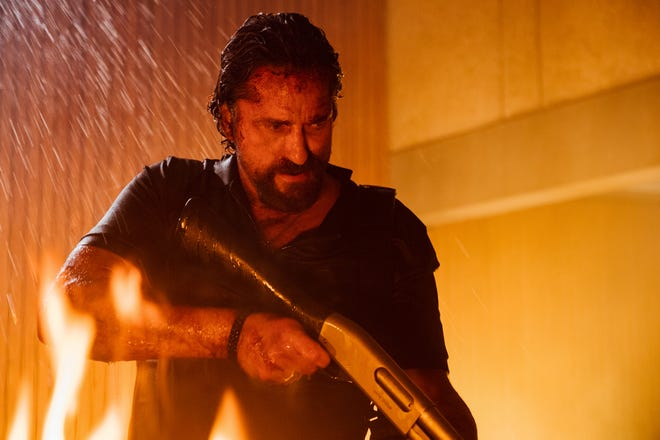 """In the action film """"Copshop,"""" hired assassin Bob (Gerard Butler) runs into a firewall of problems when he tries to kill a con artist."""