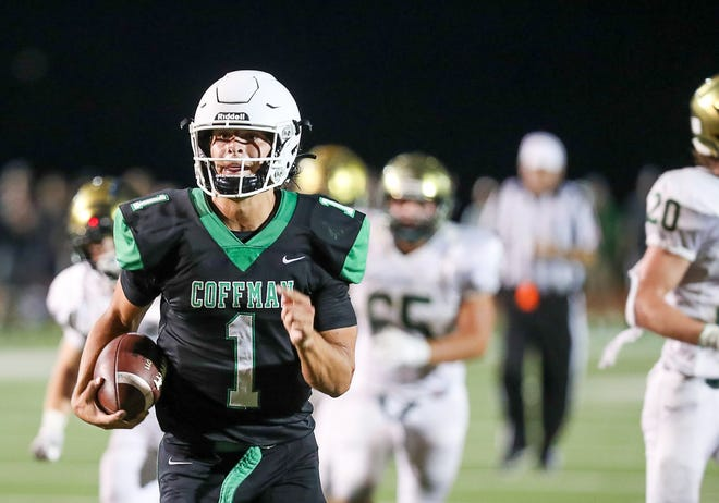 Dublin Coffman's Mason Maggs earned our Player of the Week honor for Week 4, based on a staff vote.