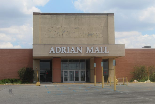 The Adrian Mall is pictured in June 2020 when it was condemned by the city of Adrian after an inspection revealed a number of issues that has made the structure unsafe for human habitation. Last week, the new owners of the mall and developers proposed turning the mall into a marijuana and CBD-based retail shopping center.