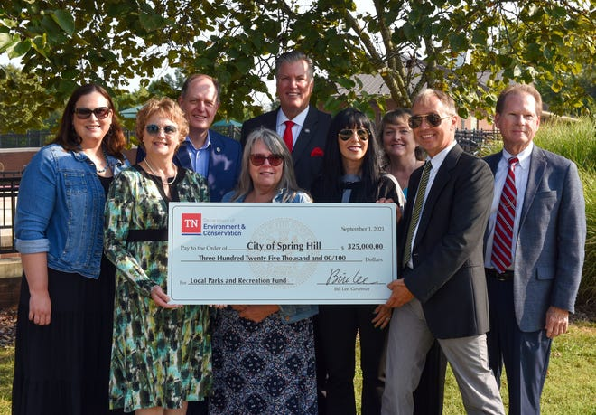Spring Hill awarded $325,000 state grant for park improvements