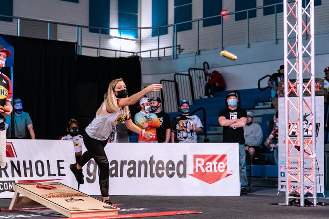 Eight professionals will compete in Friday's American Cornhole League Pro Shootout Championships.