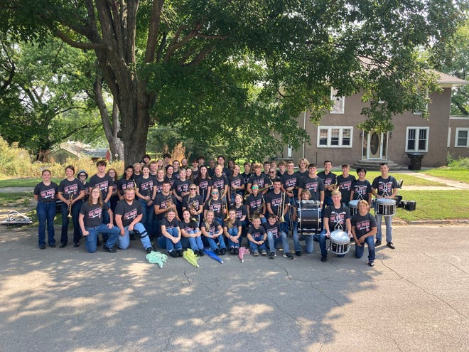 Sidney HS band