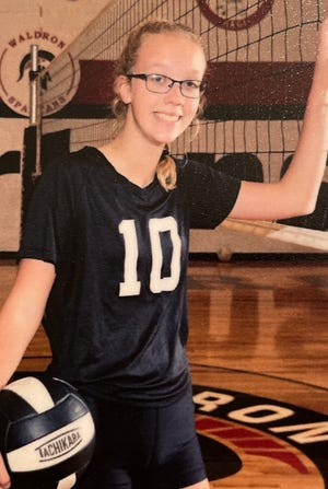 Junior Spartan Volleyball athlete Emma Wines won our Week 2 Athlete of the Week Poll.