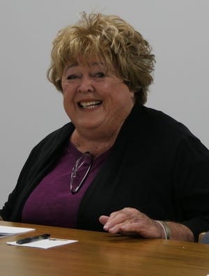 Jane Gamber was elected as a Nickerson School District Board of Education member on Monday during a board meeting.