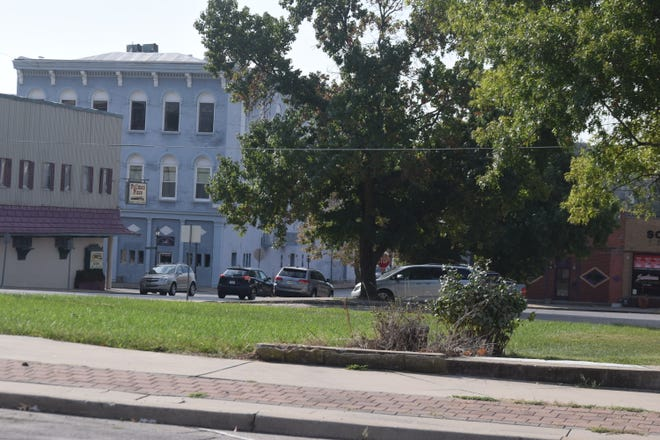 A local business owner is interested in a city-owned property at Third and Delaware streets.
