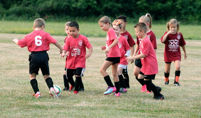 Moberly Area Soccer Association began its 2021 fall recreational/instructional soccer season for children who are preschool age through sixth grade on Saturday, Sept. 11 at Shepherd Field Complex. Nearly all MASA games are played Saturdays at the complex and the youth program attracts hundreds of kickers and fans alike. No team or scoring records are kept and the activity runs through late October.