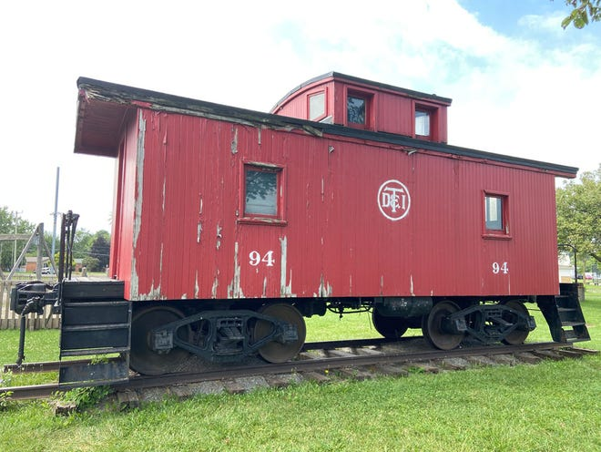 Proceeds from the Diggin' Up Local History Walk will help restore the Flat Rock Historical Society's DT&I Caboose #94.
