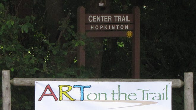 """The Hopkinton Cultural Council will display local artwork for display during the """"2021 Art on the Trail"""" from Oct. 7-17."""