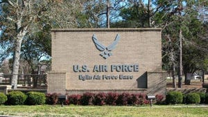 The person alleged to have sent a bomb threat by text message Sunday threatening The Breeze Dining Facility at Eglin Air Force Base is an airman with the 96th Test Wing, the host unit at the base. No explosive device was found and the investigation was continuing Tuesday.