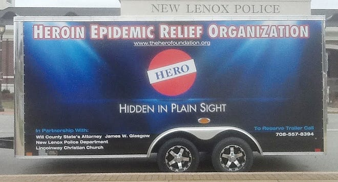 """""""Hidden in Plain Sight"""" trailer will be at Harvest Days in Dwight on Saturday."""