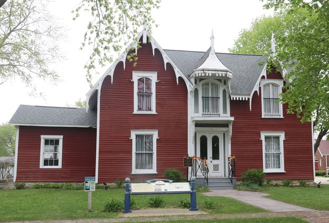David Strevell House at 401 W. Livingston St. is one of the homes that will be open for tours on Saturday. The others are the Catherine V. Yost House and Museum at 298 W. Water St. and the Jones House at 314 E. Madison St.