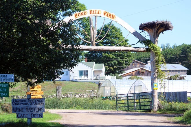 Pond Hill Farm is located at 5699 South Lake Shore Drive in Harbor Springs.