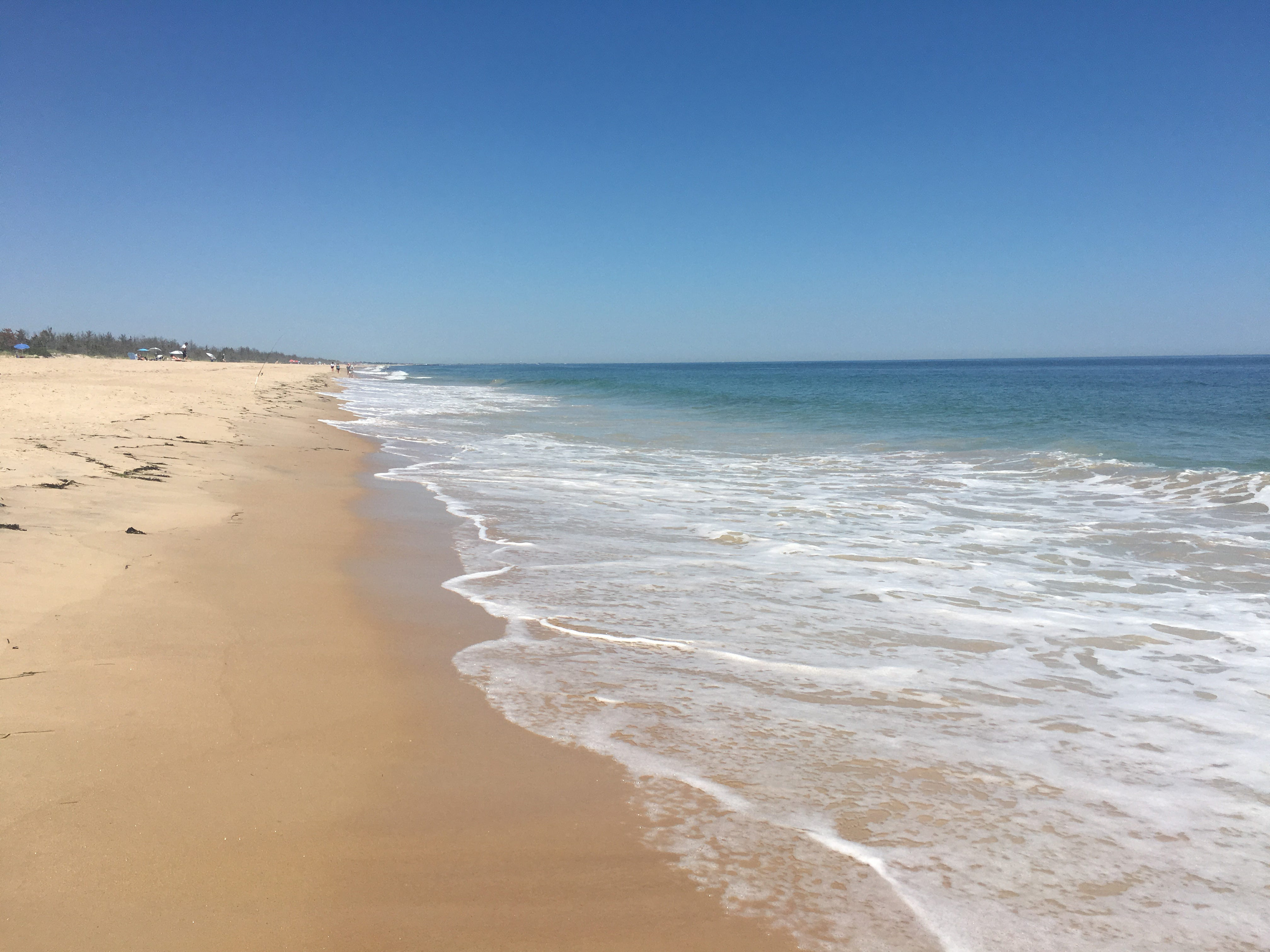 East Beach in Charlestown. You may just have the sand to yourself on Rhode Island beaches during the fall.