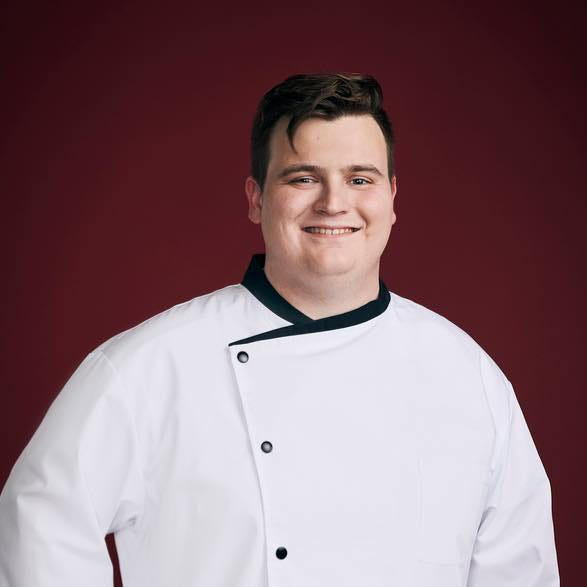 """East Central College graduate Trenton Garvey was named the winner of """"Hell's Kitchen: Young Guns"""" Monday night."""