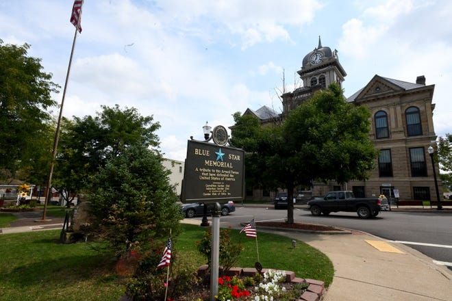 Carrollton is the seat of Carroll County, and both are named for Charles Carroll, the last surviving signer of the Declaration of Independence.